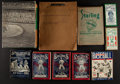 Miscellaneous Collectibles:General, 1908-69 Baseball and Football Reference Books Lot of 10....