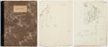 Autographs:Artists, Garth Williams: Early 1940s Sketchbook....