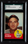 Baseball Cards:Singles (1960-1969), 1963 Topps Harmon Killebrew #500 SGC 88 NM/MT 8....