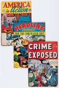 Golden Age (1938-1955):Miscellaneous, Comic Books - Assorted Golden Age Comics Group (Various Publishers, 1950s) Condition: Average VG.... (Total: 14 Comic Books)