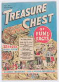 Golden Age (1938-1955):Miscellaneous, Treasure Chest V1#1 (George A. Pflaum, 1946) Condition: FN/VF....