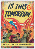 Golden Age (1938-1955):Religious, Is This Tomorrow? #1 (Catechetical Guild, 1947) Condition:VG/FN....
