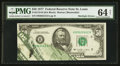 Error Notes:Foldovers, Fr. 2119-H $50 1977 Federal Reserve Note. PMG Choice Uncirculated64 Net.. ...
