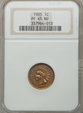Proof Indian Cents: , 1905 1C PR65 Red NGC. NGC Census: (13/10). PCGS Population (27/15). Mintage: 2,152. Numismedia Wsl. Price for problem free ...