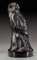 Fine Art - Sculpture, American:Contemporary (1950 to present), KENT ULLBERG (American, b. 1945). Nocturne. Bronze withbrown patina. 14-1/2 inches (36.8 cm) high on a 1-3/4 inches (4....