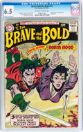 Silver Age (1956-1969):Adventure, The Brave and the Bold #14 (DC, 1957) CGC FN+ 6.5 Off-white to white pages....