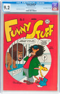 """Golden Age (1938-1955):Funny Animal, Funny Stuff #8 Davis Crippen (""""D"""" Copy) pedigree (DC, 1946) CGC NM-9.2 Off-white to white pages...."""