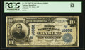 National Bank Notes:Wyoming, Basin, WY - $10 1902 Plain Back Fr. 632 The First NB Ch. #(W)10858. ...