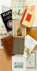 Books:Books about Books, [Books about Books]. Large Group of Book Auction Catalogs. Various Publishers and dates. Publisher's bindings. Overall very ...