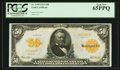 Large Size:Gold Certificates, Fr. 1199 $50 1913 Gold Certificate PCGS Gem New 65PPQ.. ...