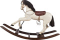 Miscellaneous, A VICTORIAN PAINTED AND CARVED WOOD ROCKING HORSE, circa 1900. 40 x60 x 17 inches (101.6 x 152.4 x 43.2 cm). PROPERTY FRO...
