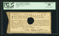 Colonial Notes:Maryland, State of Maryland Oct. 11, 1783 £100 Certificate Anderson MD-11PCGS Choice About New 58.. ...