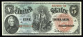 Large Size:Legal Tender Notes, Fr. 64 $5 1869 Legal Tender Superb Gem New. A very handsome,strictly original Rainbow Five, with bright colors and unusuall...