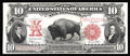 Large Size:Legal Tender Notes, Fr. 122 $10 1901 Legal Tender Gem New. Bisons that feature thisbold color are not always paired with great centering. Addin...