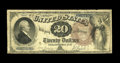 Large Size:Gold Certificates, Fr. 1187 $20 1922 Gold Certificate Extremely Fine-About New. IN our years of buying, selling, and auctioning currency, no Ex...