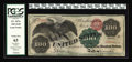 Large Size:Legal Tender Notes, Fr. 167a $100 1863 Legal Tender PCGS Choice New 63. When we soldthis note as part of Jim O'Neal's magnificent Type collecti...