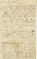 Autographs:Military Figures, Manuscript Document of the Conquest of Canada - Jeffrey Amherst'sOrders for the Campaign of 1759. A most important and rare...(Total: 1 Item)