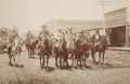 Photography:Official Photos, GERONIMO AND FAMILY AT PARADE IN ANADARKE, NEAR FORT SILL OKLAHOMA1903. Very scarce Image of Geronimo leading parade. Perio...(Total: 1 Item)