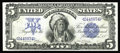 Large Size:Silver Certificates, Fr. 271 $5 1899 Silver Certificate Choice New. The back centering is a touch low on this otherwise well margined Chief. This...