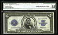 Large Size:Silver Certificates, Fr. 282 $5 1923 Silver Certificate CGA Gem Uncirculated 68. From aLyn Knight 2003 sale where it realized well over $4,000. ...