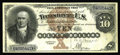 Large Size:Silver Certificates, Fr. 289 $10 1880 Silver Certificate Choice Very Fine. Beautifullymargined, with excellent colors. Its only defect is one sm...