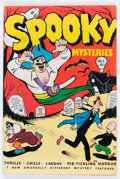 Golden Age (1938-1955):Romance, Spooky Mysteries #1 (Your Guide Publishing Co., 1946) Condition:FN+....