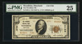National Bank Notes:Maryland, Woodbine, MD - $10 1929 Ty. 2 The Woodbine NB Ch. # 8799. ...