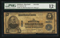 National Bank Notes:Maryland, Salisbury, MD - $5 1902 Plain Back Fr. 598 The Salisbury NB Ch. #3250. ...