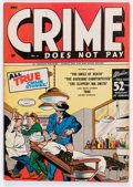 Golden Age (1938-1955):Crime, Crime Does Not Pay #41 (Lev Gleason, 1945) Condition: FN+....