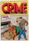 Golden Age (1938-1955):Crime, Crime Does Not Pay #40 (Lev Gleason, 1945) Condition: FN/VF....