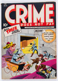 Golden Age (1938-1955):Crime, Crime Does Not Pay #31 (Lev Gleason, 1944) Condition: FN-....