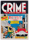 Golden Age (1938-1955):Crime, Crime Does Not Pay #44 (Lev Gleason, 1946) Condition: VF-....