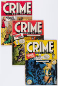 Golden Age (1938-1955):Crime, Crime Does Not Pay Group (Lev Gleason, 1943-46) Condition: Average FR/GD.... (Total: 7 Comic Books)