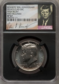 Kennedy Half Dollars, 2014-D 50C High Relief, Clad, 50th Anniversary, First Releases SP67NGC. PCGS Population (350/135). NGC ...