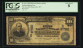 National Bank Notes:West Virginia, Harrisville, WV - $10 1902 Date Back Fr. 616 The First NB Ch. # (S)6790. ...