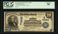 National Bank Notes:Kentucky, Barbourville, KY - $20 1902 Plain Back Fr. 650 The First NB Ch. #(S)6262. ...