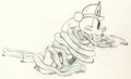 Animation Art:Production Drawing, Mickey's Fire Brigade Mickey Mouse Animation Drawing (Walt Disney, 1935)....