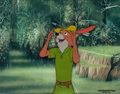Animation Art:Production Cel, Robin Hood Production Cel (Walt Disney, 1973)....