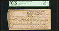 Confederate Notes:Group Lots, Interim Depository Receipt Orange C(ourt) H(ouse), VA- $100 Mar.17, 1864 Tremmell VA-102. . ...