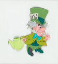 Animation Art:Production Cel, Alice in Wonderland Mad Hatter Production Cel (Walt Disney,1951). ...
