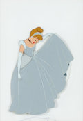 Animation Art:Production Cel, Cinderella in Ball Gown Production Cel (Walt Disney,1950)....