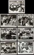"""Movie Posters:Exploitation, Riot in Juvenile Prison & Other Lot (United Artists, 1959).Photos (7) (8"""" X 10""""). Exploitation.. ... (Total: 7 Items)"""