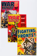 Golden Age (1938-1955):Miscellaneous, Harvey Golden Age War Comics File Copies Group (Harvey, 1952-67) Condition: Average VF.... (Total: 40 Comic Books)
