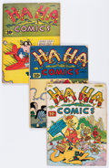Golden Age (1938-1955):Funny Animal, Ha Ha Comics Group (ACG, 1943-45) Condition: Average GD/VG....(Total: 15 Comic Books)