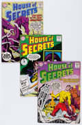 Silver Age (1956-1969):Horror, House of Secrets Group (DC, 1958-59).... (Total: 8 Comic Books)