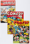 Golden Age (1938-1955):Miscellaneous, Timely Golden Age Funny Animal Comics Group (Timely, 1940s) Condition: Average VG/FN.... (Total: 5 Comic Books)