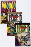 Golden Age (1938-1955):Horror, Fantastic Fears/Voodoo Group (Farrell, 1953-54) Condition: AverageGD/VG.... (Total: 4 Comic Books)