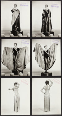 "Juliet Prowse in G.I. Blues (Paramount, 1960). Unretouched Wardrobe Photos (6) (approx. 7.5"" X 9.25""). Elvis P..."