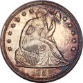 Seated Dollars, 1852 $1 MS63 PCGS. CAC....