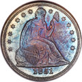 Seated Dollars, 1851 $1 MS64 NGC....